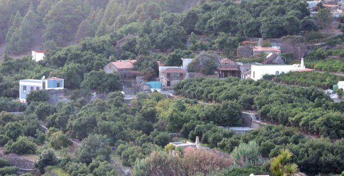 La Hacienda del Cura, el caserío de La Caldera