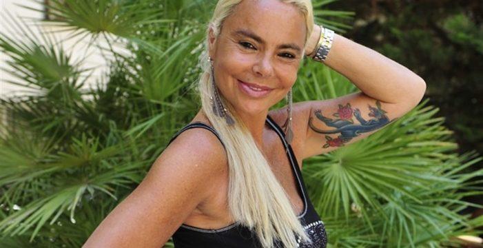 Leticia Sabater pierde los papeles, y la peluca, en el plató de 'Supervivientes'