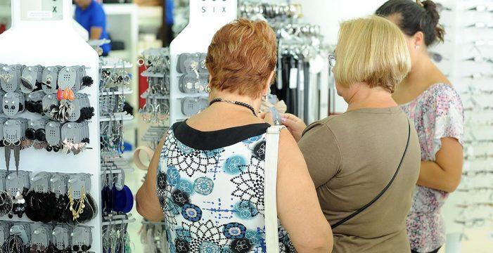 Las ventas del comercio minorista en Canarias suben un 2,7% en enero y el empleo un 3,2%