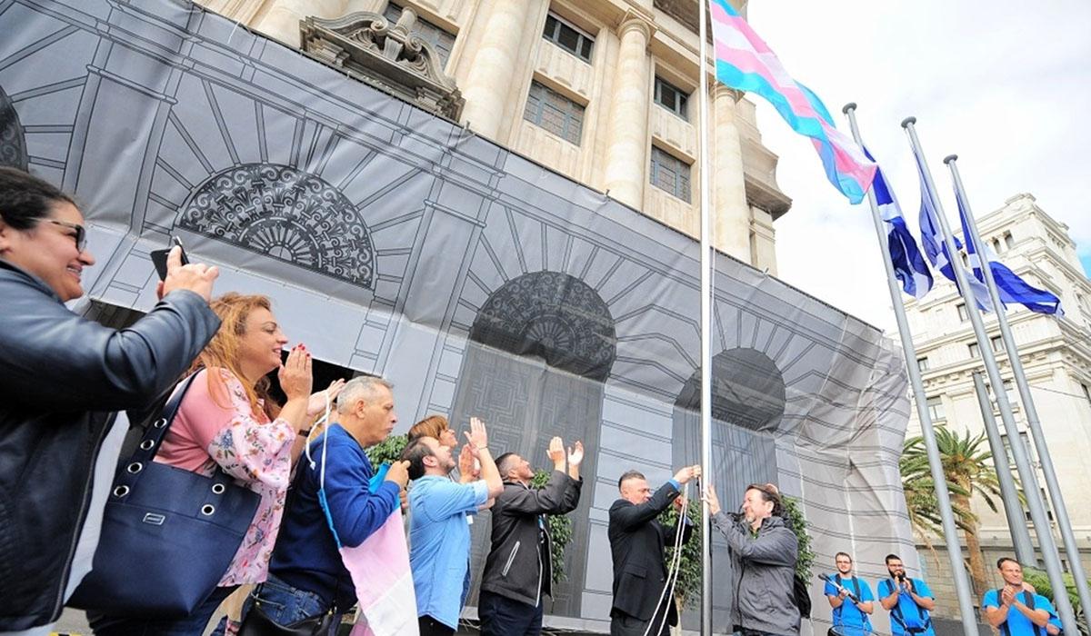 El Cabildo de Tenerife conmemora el Día de la Visibilidad Transexual. / EUROPA PRESS