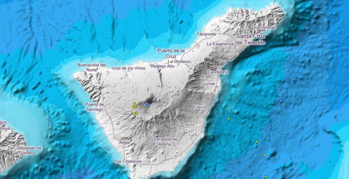 Nuevo enjambre sísmico en el Teide