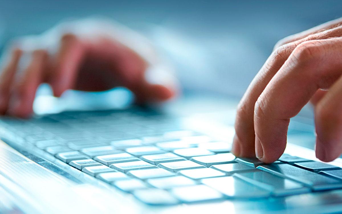 Informática ordenador PC teclado