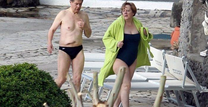 Angela Merkel cumple con el guion en La Gomera