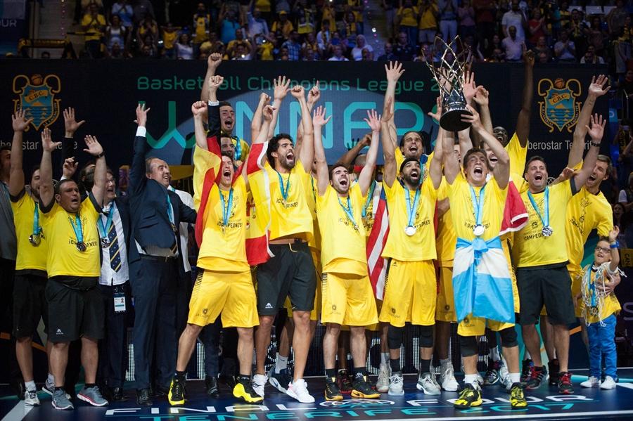 Los aurinegros son los actuales campeones de la máximo competición de clubes europeos de la FIBA  FRAN PALLERO