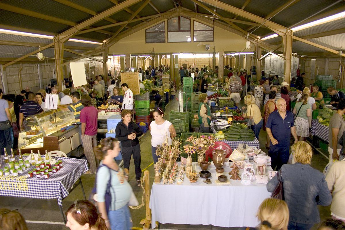 Instalaciones del actual mercado del agricultor, en Granadilla. DA