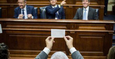 CC, PP y ASG registran su nueva ley de la Radio Televisión Canaria