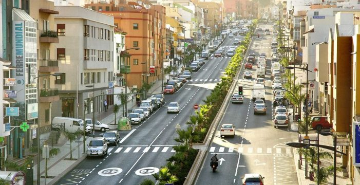 La avenida de Los Menceyes tendrá un radar fijo para lograr reducir la velocidad