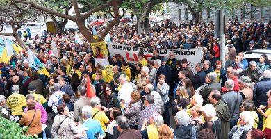 La primavera de los pensionistas es un clamor