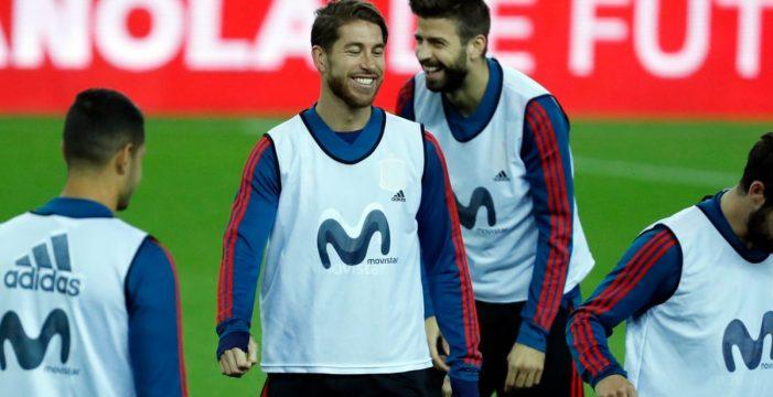 """Piqué: """"Los del Real Madrid reían y enseñaban músculo el año pasado, ahora están serios"""""""