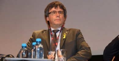 El expresidente de la Generalitat, Carles Puigdemont.   EP