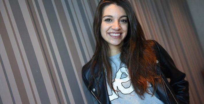 """Ana Guerra: """"Dentro de cinco años seguiré en el mundo de la música, aunque sea tocando en la calle"""""""