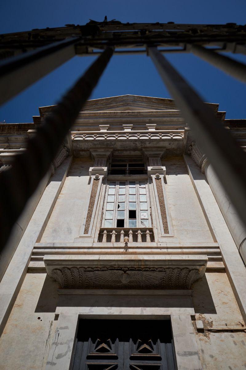 Estado ruinoso del Templo Masónico de Santa Cruz | FOTO: Andrés Gutiérrez
