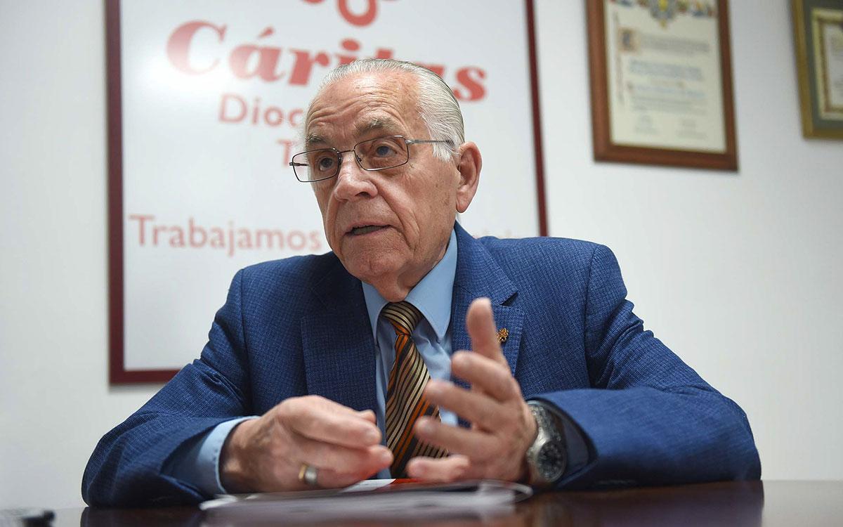 Leonardo Ruiz del Castillo, director de Cáritas en Tenerife