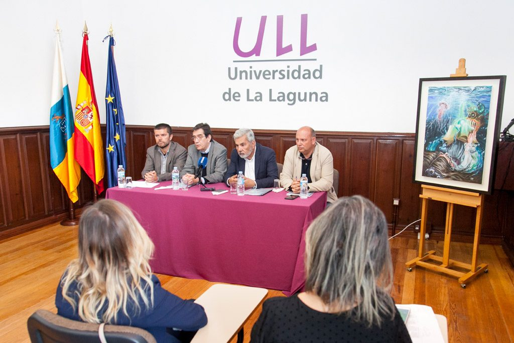 El acto de presentación de la vigesimosexta edición de la UVA se celebró en la Universidad de La Laguna. | DA