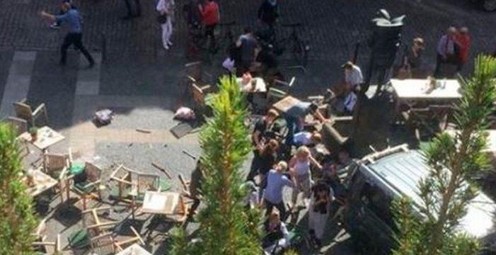 Varios muertos en un atropello masivo en Münster