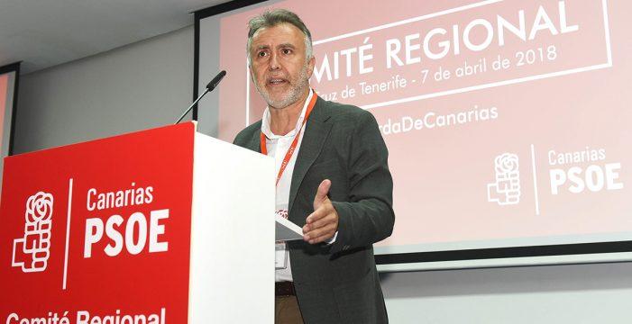 """El PSC hará seguimiento """"exhaustivo"""" del cumplimiento de la agenda canaria"""