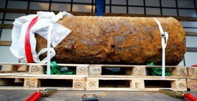 Desactivan una bomba de la Segunda Guerra Mundial en la localidad alemana de Fránkfurt