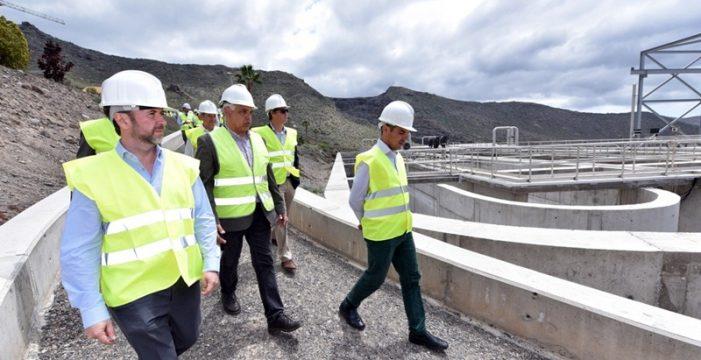 Incorporan tecnología avanzada de gestión a la depuradora Adeje-Arona