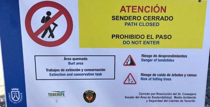"""Pitorreo en redes por el """"patético"""" cartel en inglés del Cabildo de Tenerife"""