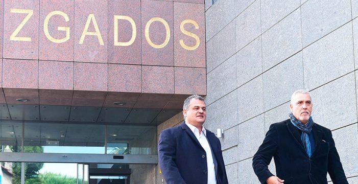 José Alberto Díaz se niega a responder a las preguntas de las acusaciones populares