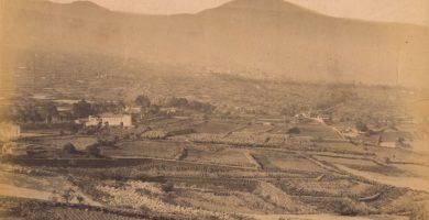 Valle de La Orotava a finales del siglo XIX, escenario natal de José Agustín Álvarez Rixo. | Archivo FEDAC