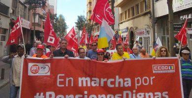 Manifestación por las pensiones. / UGT