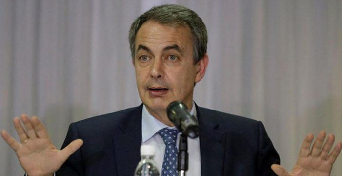 """La oposición rechaza la presencia de Zapatero en Venezuela para """"lavar la cara a Maduro"""""""