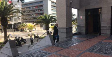 Ignacio Pintado presta declaración por el presunto desfalco de 124.000 euros en el Recinto Ferial