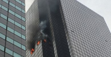 INCENDIO TORRE TRUMP NUEVA YORK