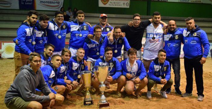 El Chimisay de Arafo, con un Ricardo Luis estelar, logra el título juvenil