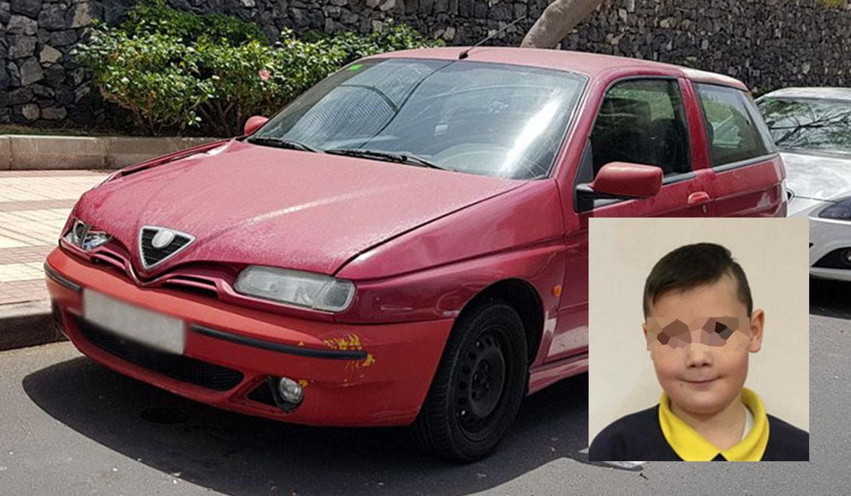 La Policía identificó el coche que presuntamente atropelló al niño, cuya imagen difundió ayer un medio inglés. DA