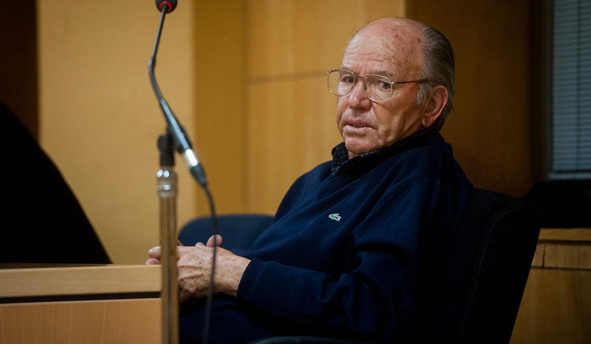Jacinto Siverio, instantes después de conocer el veredicto del jurado que lo condenó el pasado jueves. Fran Pallero
