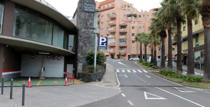 El parking Mencey Bencomo abre hoy sus puertas gratis y durante las 24 horas