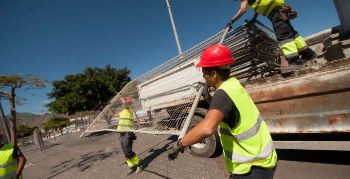 Las obras del enlace puerto-ciudad obligan a la reordenación del tráfico