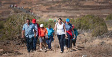 Los ayuntamientos de Granadilla y Vilaflor piden precaución a los participantes y respeto al entorno natural. F. P.