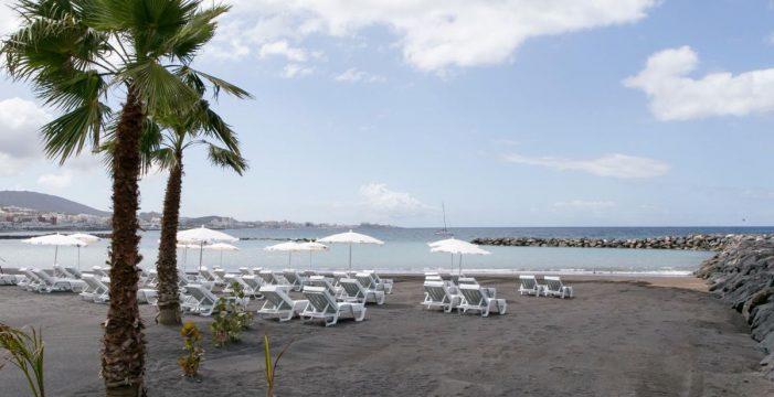 Costa Adeje estrena una nueva playa, El Duque Norte, de 400 metros de extensión