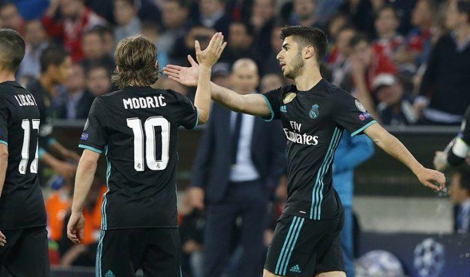 El Real Madrid remonta y golpea primero