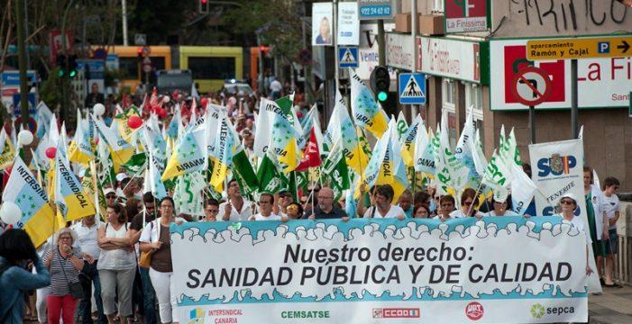 """Marea Blanca llama a protestar contra una sanidad de """"categoría regional"""""""