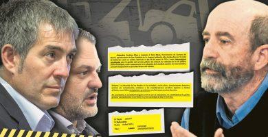 Santiago Pérez destapa un documento clave que amplía los posibles delitos de Clavijo y Díaz