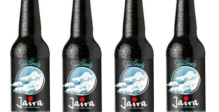 La empresa canaria Jaira lanza la primera cerveza de agua de nube atlántica
