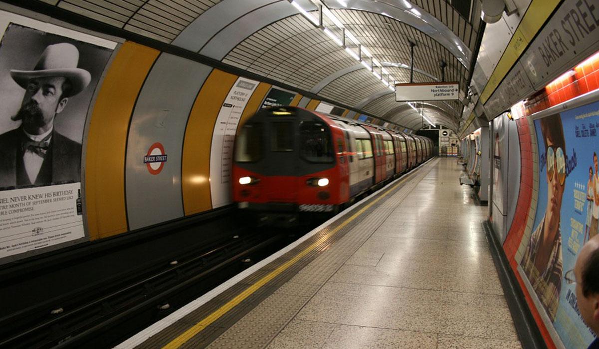 Metro de Londres. DA