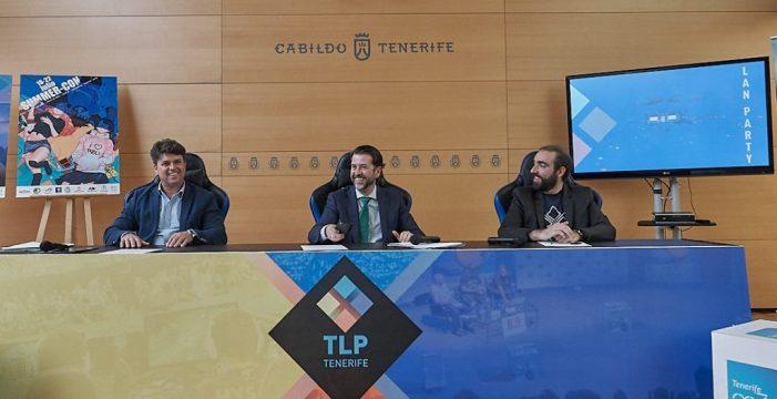 TLP Tenerife 2018 acogerá el torneo universitario europeo de LOL y el Congreso Nacional de Google