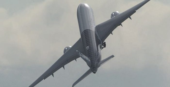 Graban el impresionante despegue casi vertical de un Airbus 350
