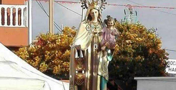 Desaparece la talla de la Virgen del Carmen de una capilla de Guía de Isora