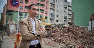 Carlos Tarife, concejal de Urbanismo de Santa Cruz. / Andrés Gutiérrez