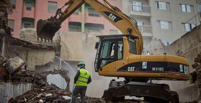 El derribo del 23 de Puerta Canseco se retoma la semana que viene