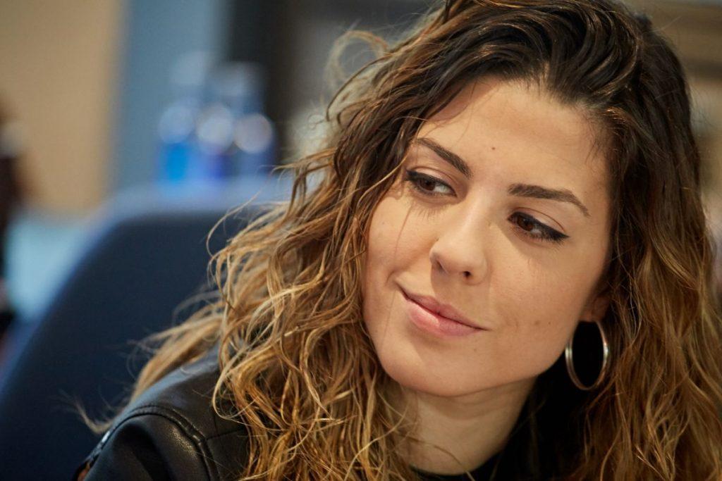Miriam Rodríguez, finalista de Operación Triunfo 2017. | Foto: Andrés Gutiérrez