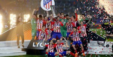 El Atlético de Madrid, campeón de la Liga Europa tras ganar al Olympique de Marsella