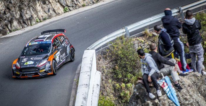 Lukyanuk-Arnautov cierran la primera etapa al frente del Rally Islas Canarias