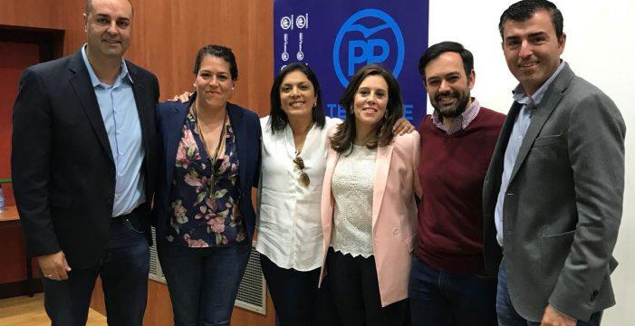 Carmen Yanira González, elegida presidenta del PP en Granadilla de Abona